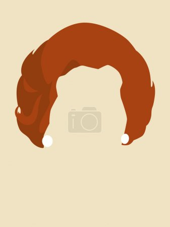 Woman's Hair Symbol