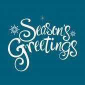 Seasons Greetings Text