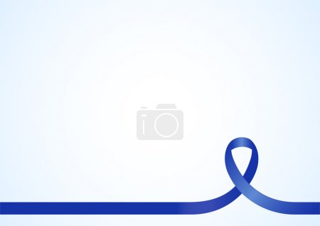 Awareness Blue Ribbon