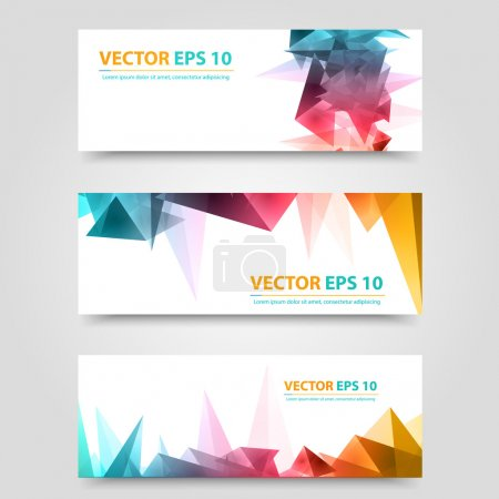 Flyer template header design.