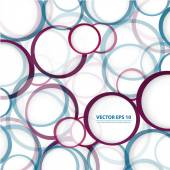 Vector abstract background Circles and color texture