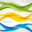 Vector abstract background design wavy.  Brochure ...