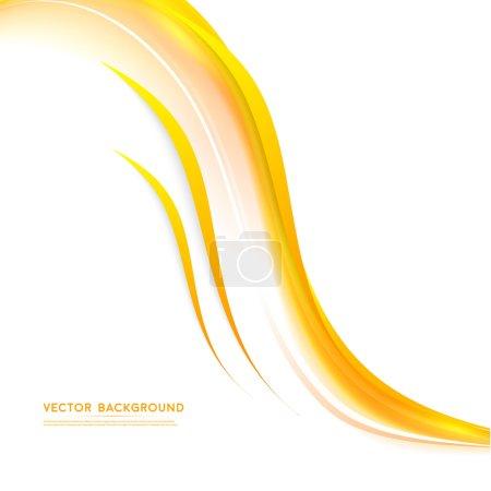 Illustration pour Vecteur abstrait fond design ondulé. Collection de modèles de conception de brochure - image libre de droit