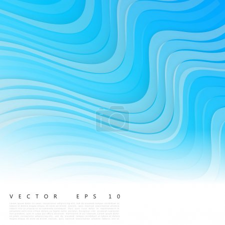 Illustration for Vector abstract background design waves.  Brochure design templates collection - Royalty Free Image