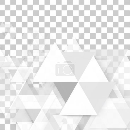 Photo for Vector background abstract polygon triangles. polygonal design geometrical - Royalty Free Image