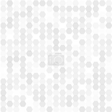 Illustration for Vector background abstract hexagones. design and geometrical - Royalty Free Image