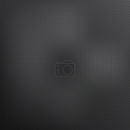 Illustration for Vector pattern black. Textile background and wave - Royalty Free Image