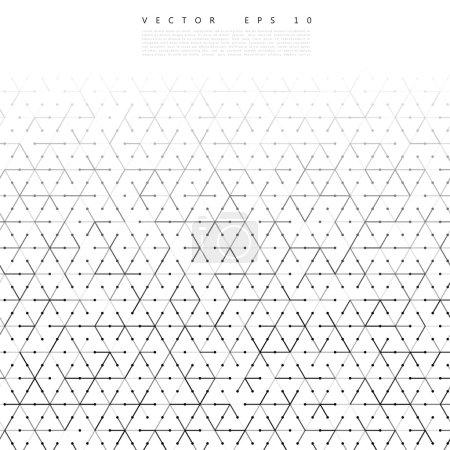 Ilustración de Vector backgrond líneas y triángulos Vector ilustración - Imagen libre de derechos