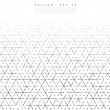 Vector backgrond lines and triangles Vector Illust...