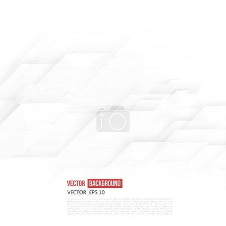 Illustration pour Vector Forme géométrique abstraite de la diagonale grise romb. Blanc - image libre de droit