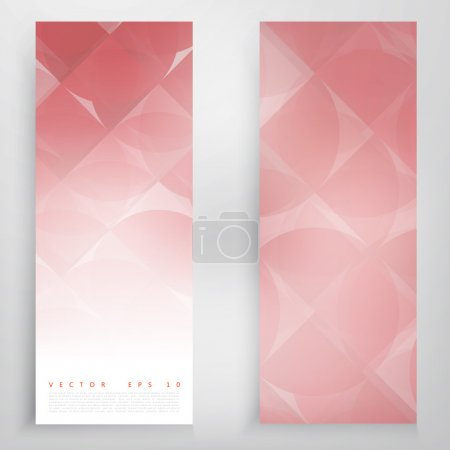 Vector modern geometrical abstract background.