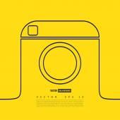 Line camera photo instagram.