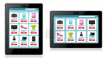 Tablet, Mobile Device, Online Shopping