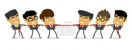 Tug of War, Business, People, Competition