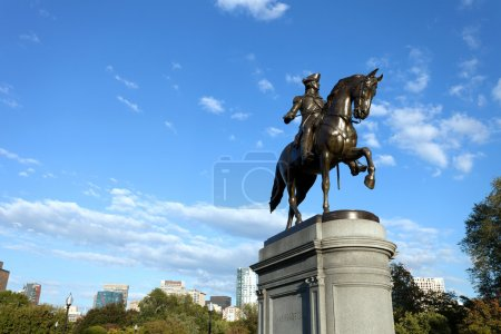 Boston George Washington Statue