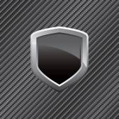 Carbon Fiber Shield Background