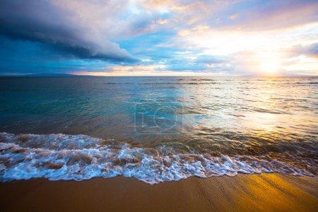 Sunrise on Beach on Maui