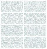 Lace seamless patterns