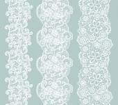 lacy vintage trim