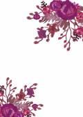 Floral card Bouquet