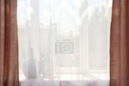 Foto de Ventana de textil borrosa, Fondo - Imagen libre de derechos