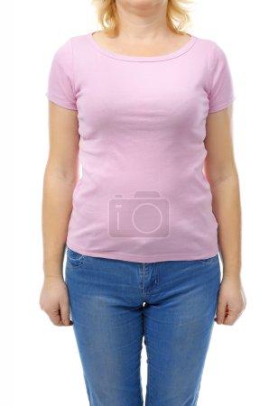 Chubby woman's body