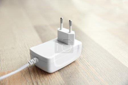 white Power plug