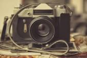 Historických fotografií s fotoaparátem