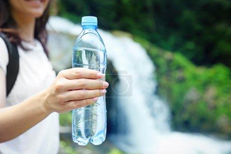 Bottle of clear water