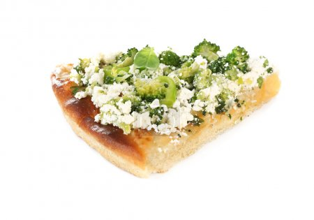 Vegetarian Italian pizza