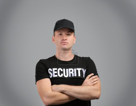 Male security guard