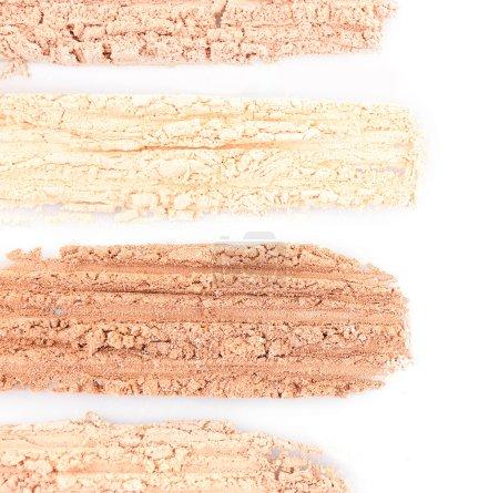 Foundation powder makeup