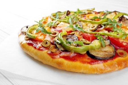 Tasty homemade pizza