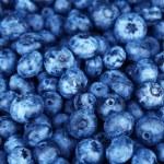 Tasty ripe blueberries, close up...