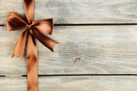 Photo pour Vieux fond en bois avec un bel arc - image libre de droit