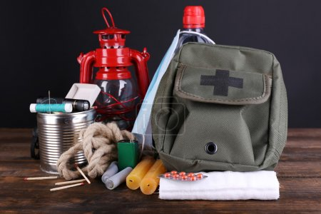 Emergency preparation equipment