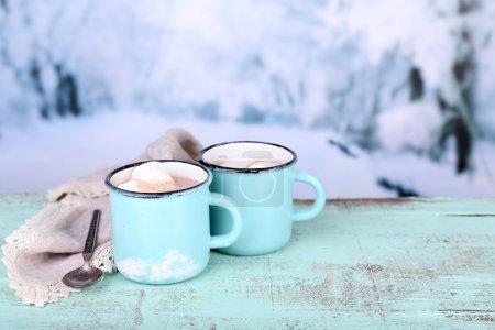Tasse leckeren heißen Kakao