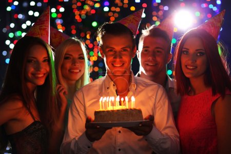 Photo for Birthday party in club - Royalty Free Image
