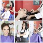Beauty salon collage...