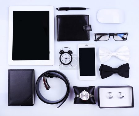 Essentials fashion man objects