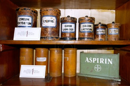 Chemicals and laboratory utensils