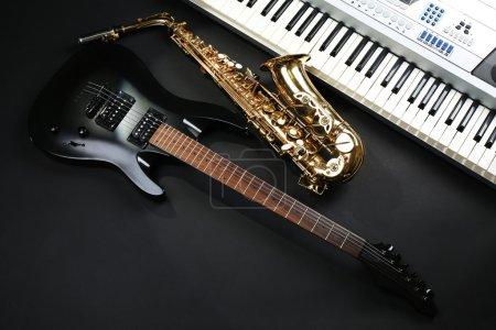 Photo pour Instruments de musique, gros plan - image libre de droit