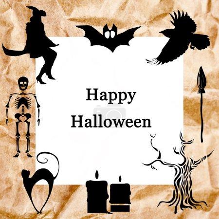 sammlung von halloween ikonen