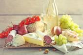 Různé typy italských potravin