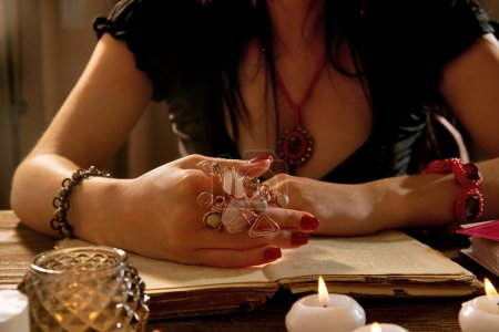 Witch - fortune teller
