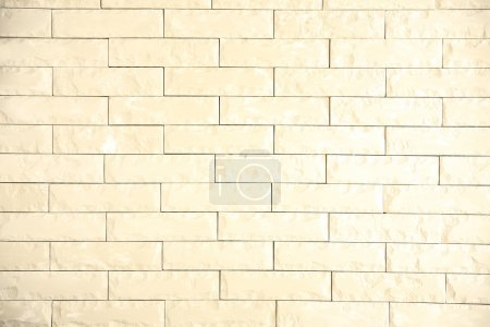 Whitening brick wall