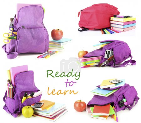 Colorful School backpacks