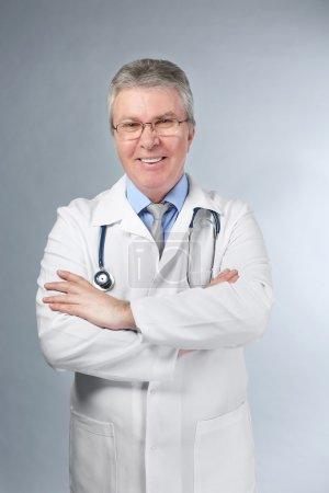 A handsome doctor with stethoscope