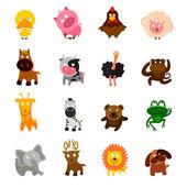 Vector set of animals
