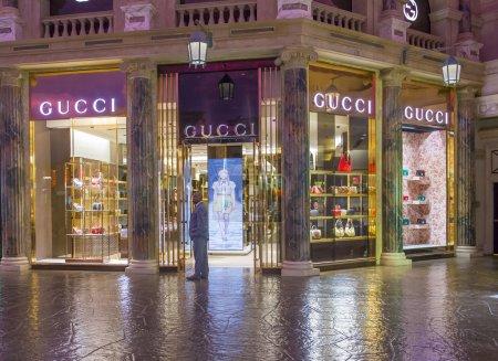 Gucci store Las Vegas